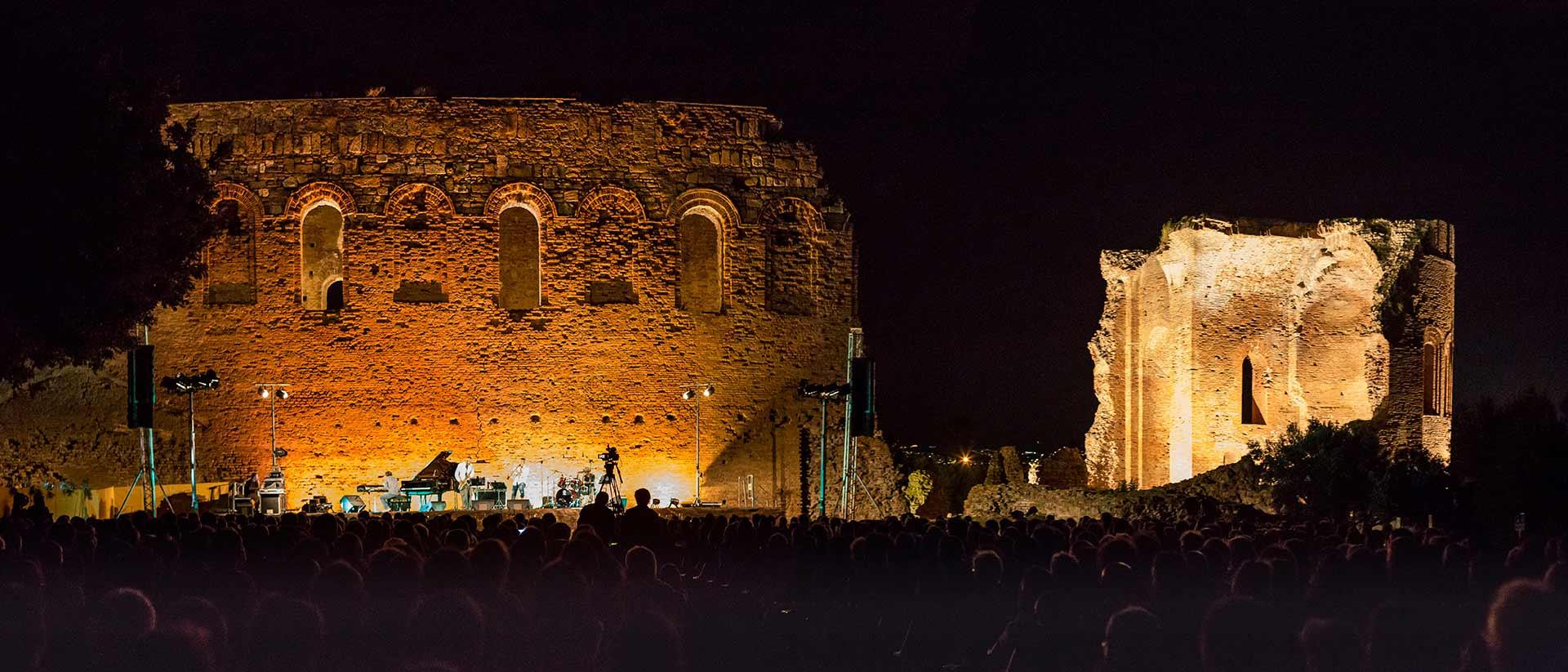 Armonie d'Arte Festival al Parco Archeologico Scolacium Roccelletta di Borgia, Catanzaro foto di Francesco Trapasso